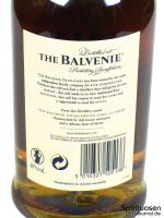 The Balvenie DoubleWood 12 Jahre Rückseite Etikett