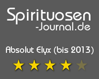 Absolut Elyx Wertung