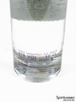 Homecoming Vodka Rückseite Etikett