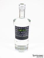 Homecoming Vodka Vorderseite
