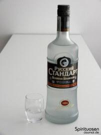 Russian Standard Original Glas und Flasche