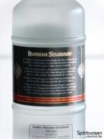 Russian Standard Original Rückseite Etikett