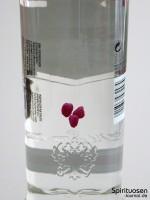 Smirnoff Twist Raspberry Rückseite Etikett
