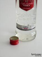 Smirnoff Red Label No.21 Verschluss