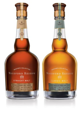 Woodford Reserve Straight Malt und Classic Malt Whiskeys angekündigt